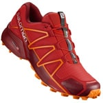 Salomon Speedcross 4 Herren-Laufschuhe High Risk/Red Dahlia
