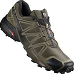 Salomon Speedcross 4 Herren-Trail-Laufschuhe Grape Leag