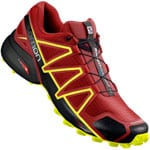 Salomon Speedcross 4 Herren-Trail-Laufschuhe Red Dahlia