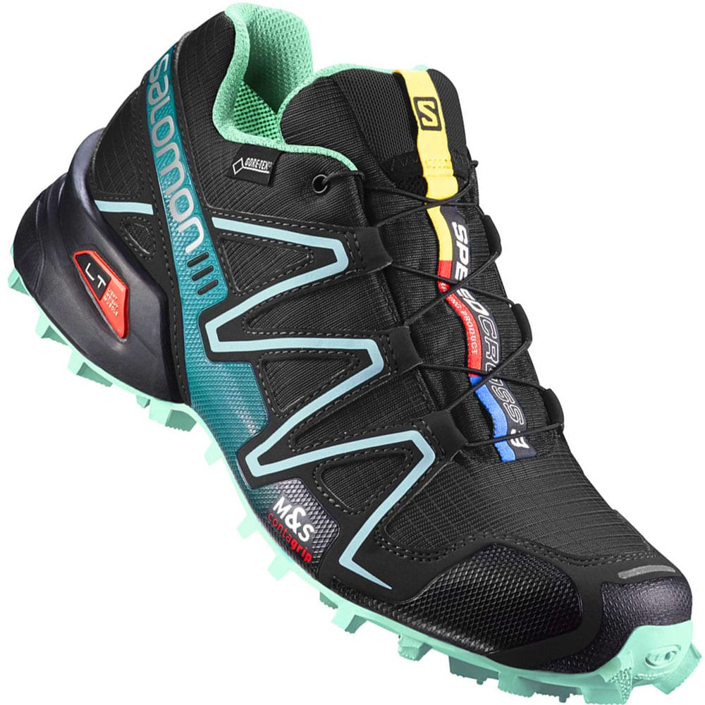 salomon speedcross 3 damen green sneakerdiscount