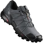 Salomon Speedcross 4 Herren-Laufschuhe Dark Cloud/Black/Pearl