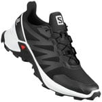 Salomon Supercross Laufschuhe Black/White