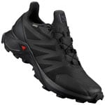 Salomon Supercross GTX Laufschuhe Black