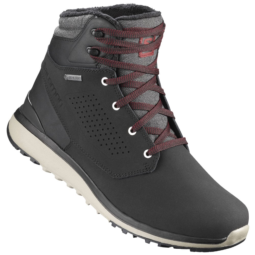 Salomon Utility Winter CSWP Herren Winterschuhe Black | Fun 4reH6