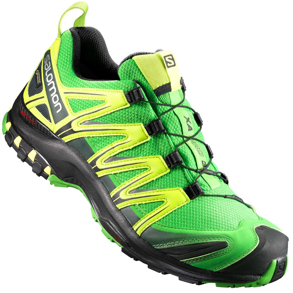 salomon xa pro 3d gtx herren sportschuhe green yellow. Black Bedroom Furniture Sets. Home Design Ideas