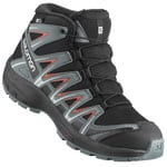 Salomon XA Pro 3D MID CSWP Kinder-Winterschuhe Black/Stormy Weather