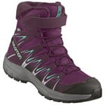 Salomon XA Pro 3D Winter TS CSWP Kinder-Winterschuhe Dark Purple