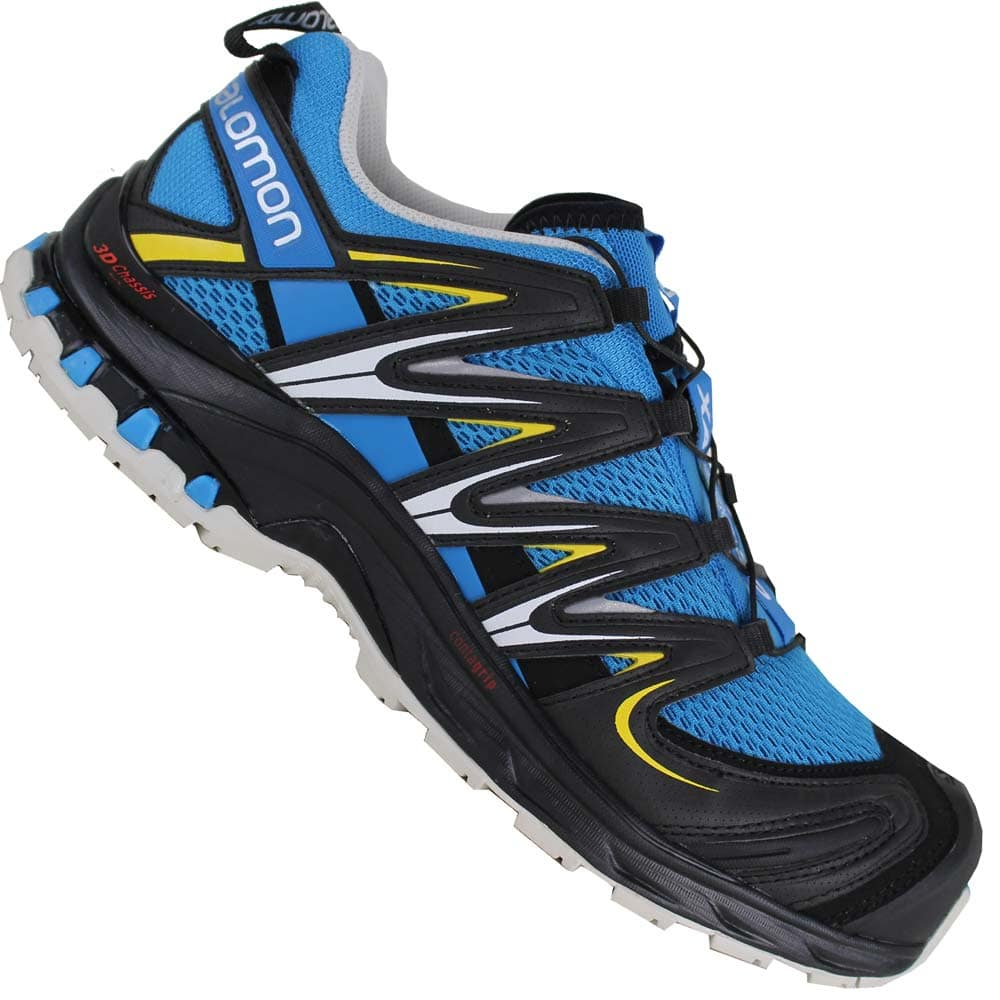 Salomon XA PRO 3D Laufschuh Trail methyl bluelight grey