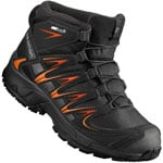 Salomon XA PRO 3D MID CSWP Kinder-Winterschuhe Black/Orange