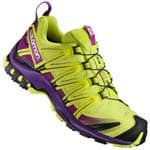 Salomon XA PRO 3D GTX W Damen-Laufschuhe Lime Punch/Grape Juice