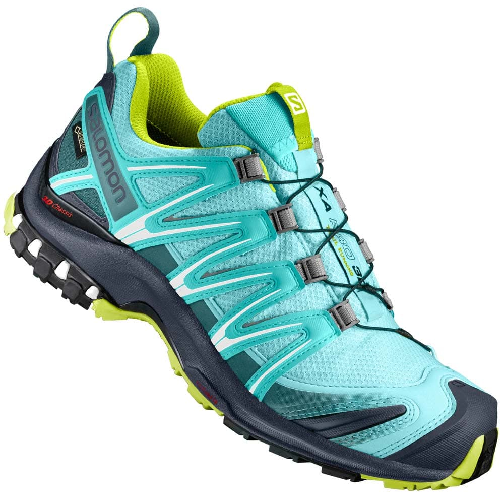 salomon xa pro 3d gtx w damen laufschuhe aruba blue ombre. Black Bedroom Furniture Sets. Home Design Ideas