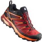 Salomon X Ultra 3 GTX Herren-Wanderschuhe Black/Red Dalhia