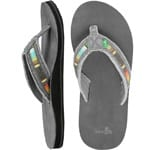 Sanuk Fraid So Herren-Zehentrenner Charcoal Multi