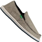 Sanuk Sidewalk Surfer Vagabond Herren-Slipper Grey