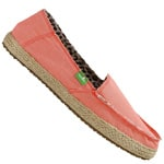 Sanuk Sidewalk Surfer Fiona Slip On Coral
