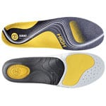 Sidas 3 Feet Activ High Einlegesohlen Yellow/Grey