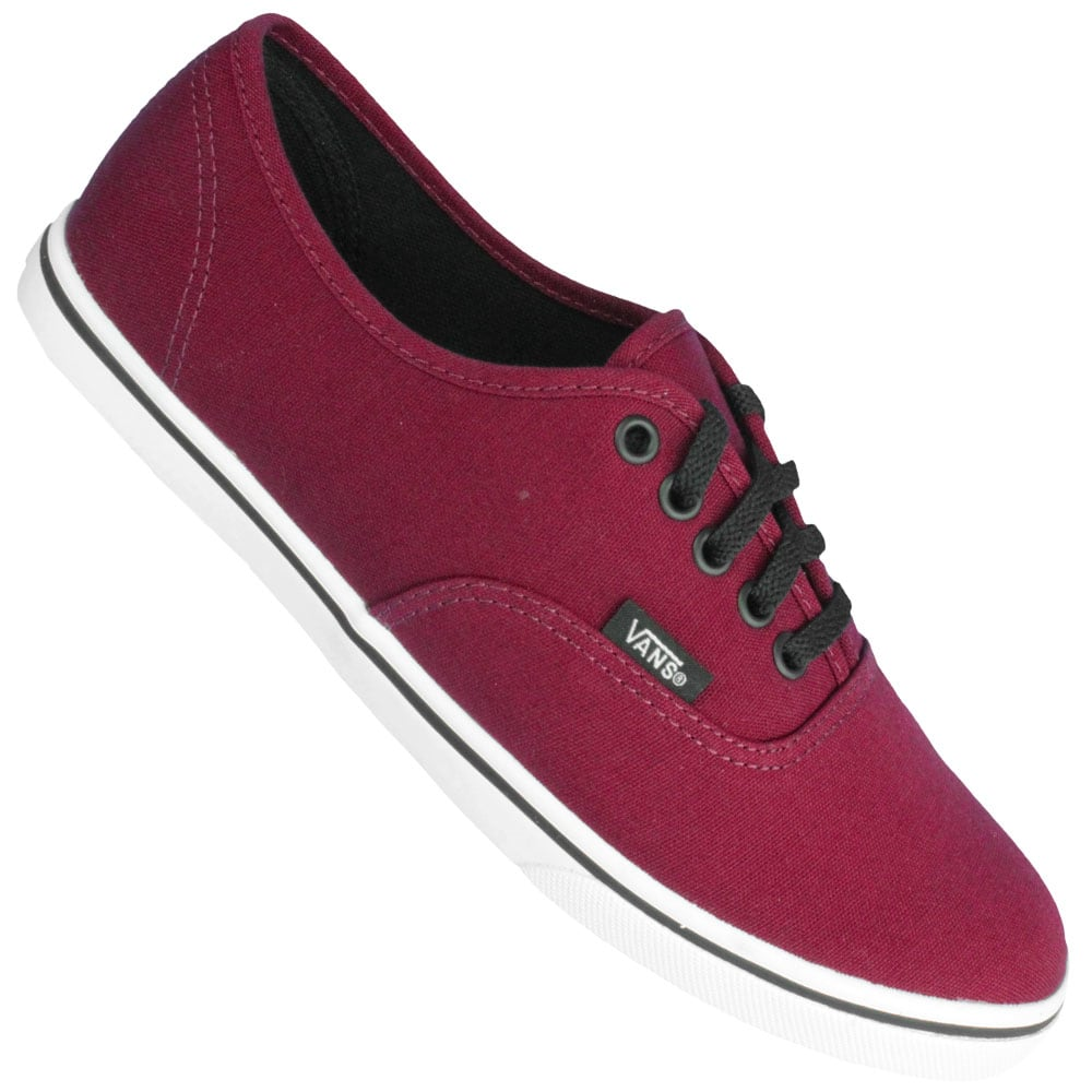 vans damen authentic rot