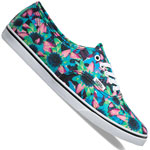 Vans Authentic Lo Pro Floral Mix Black/Turquoise