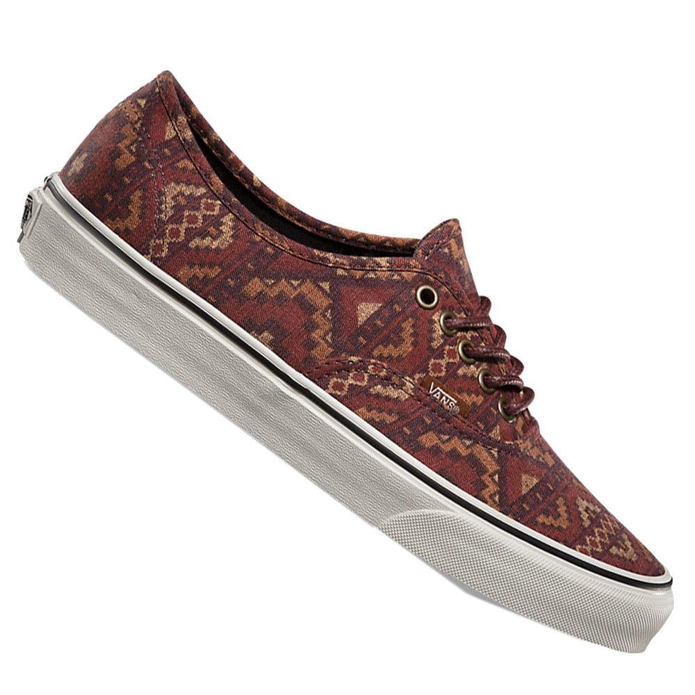vans authentic herren rot
