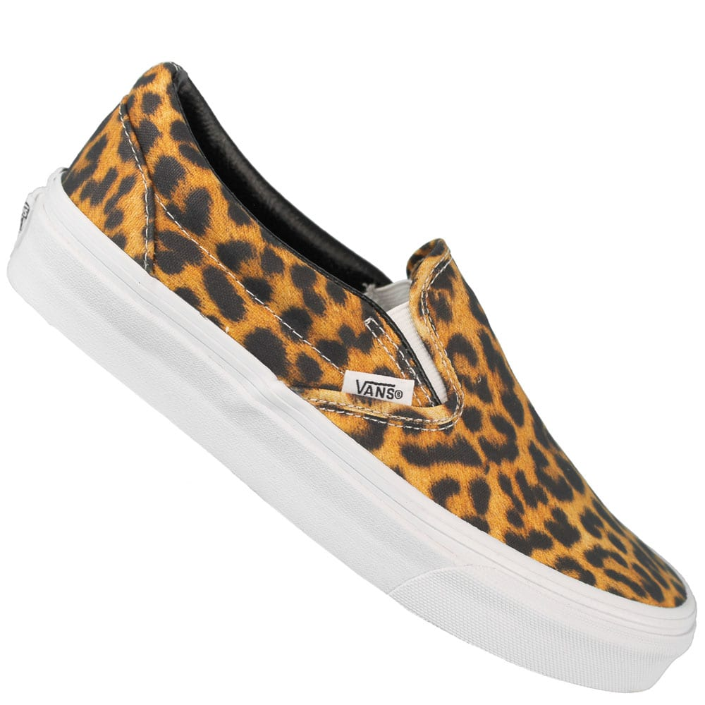 vans classic slip on damen sneaker digi leopard fun. Black Bedroom Furniture Sets. Home Design Ideas
