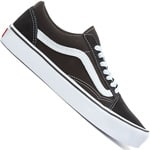 Vans Old Skool Lite (Suede/Canvas) Unisex-Sneaker Black/White
