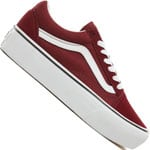 Vans Old Skool Platform Sneaker Port Royale/True White