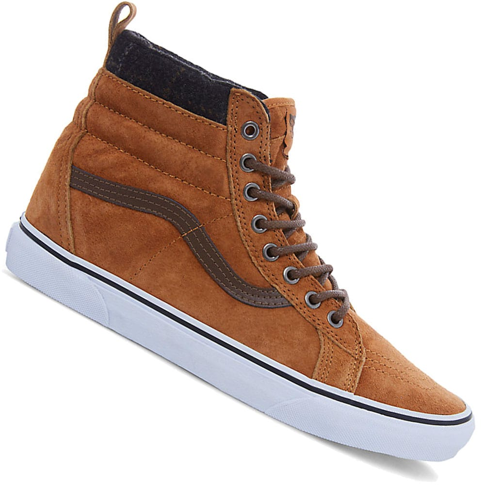 vans sk8 hi mte sneaker glazed ginger plaid online kaufen. Black Bedroom Furniture Sets. Home Design Ideas