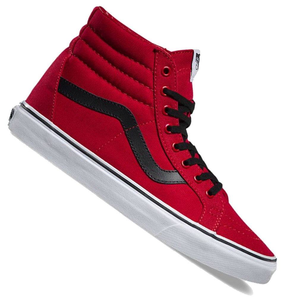 5fdf44c5e98d Vans U SK8-Hi Reissue Sneaker V3CAATM Canvas Chili Pepper Black ...