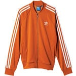Adidas Tracktop Herren-Trainingsjacke AB9714 Fox Red