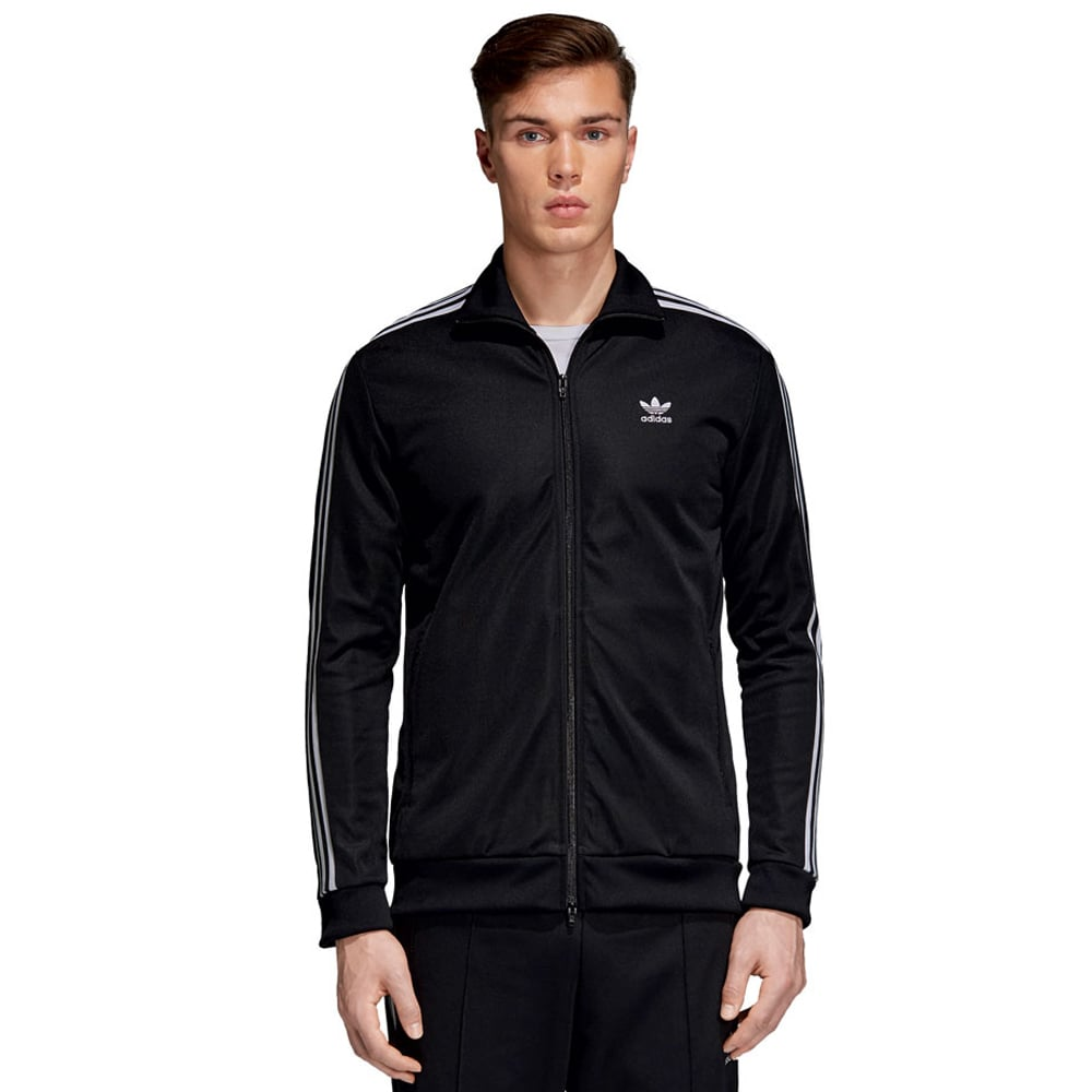 adidas Originals Beckenbauer Track Top Herren-Trainingsjacke Black