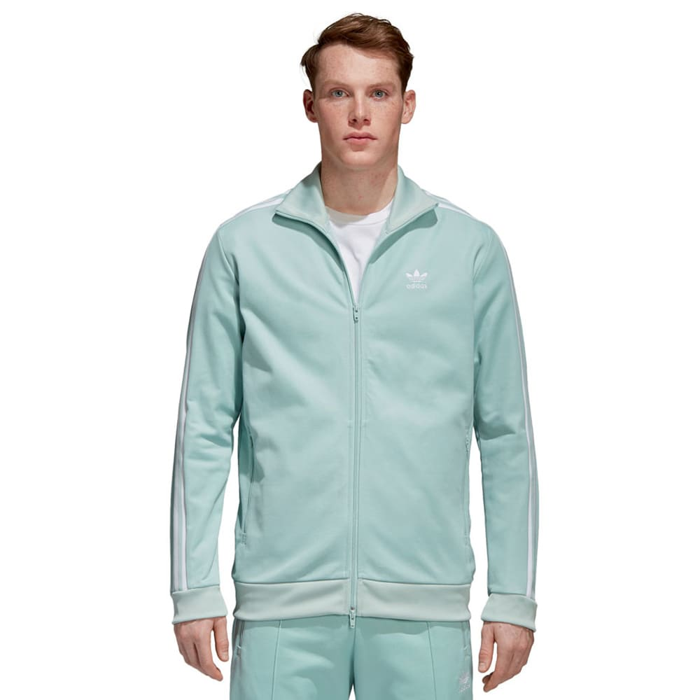 adidas Originals Beckenbauer Track Top Herren-Trainingsjacke Ash Green