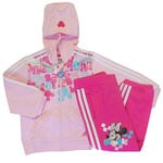 Adidas Disney Baby Trainingsanzug Mickey Maus O05265 Girls (pink)