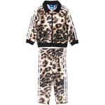 Adidas Baby Trainingsanzug 3-Stripes Jogger AB1834 Sand/Black/White