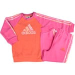 Adidas Baby Trainingsanzug Infants Jogger Orange/Pink