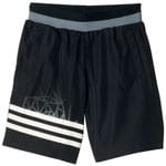 adidas Performance Locker Room Performer Woven Kinder-Shorts Black
