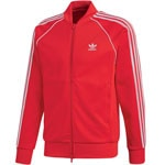 adidas Originals Superstar Track Top Herren-Trainingsjacke Scarlet