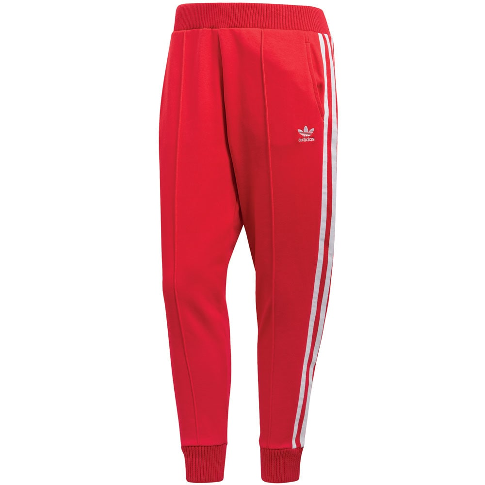 adidas originals track pant damen jogginghose radiant red. Black Bedroom Furniture Sets. Home Design Ideas