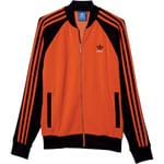 adidas Originals Superstar Track Top Herren-Trainingsjacke Orange