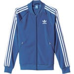 adidas Originals Supergirl Track Top Damen-Trainingsjacke EQT Blue