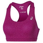 asics Racerback Bra Top Training Damen-Top 130465-0200 Berry Speckl