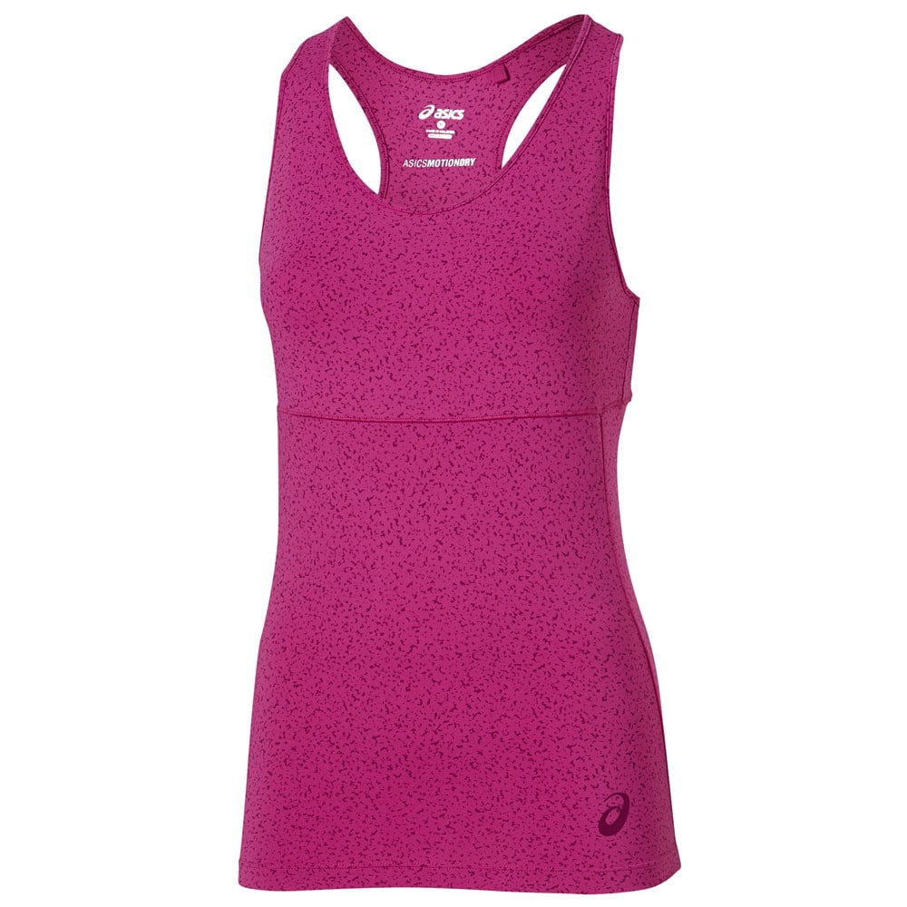 asics Racerback Top Training Damen-Top 130466-0200 Berry Speckle