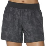 asics fuzeX 5.5in Short Damen-Laufhose Whisk/Black