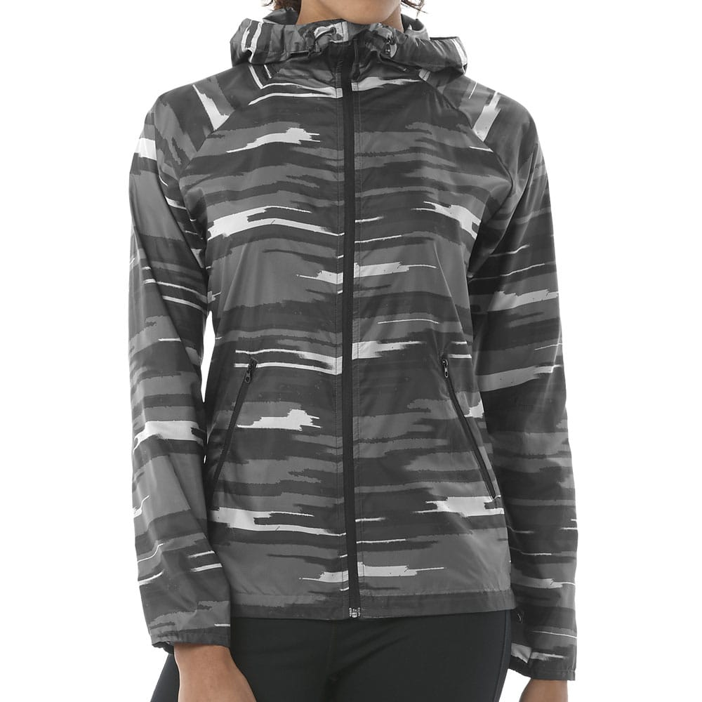 asics fuzeX Jacket Damen Laufjacke Dark/Grey