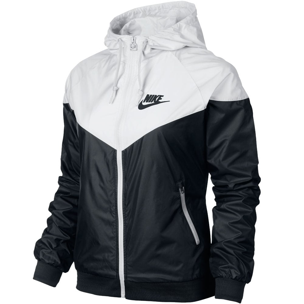 Nike Windrunner Jacket Damen-Trainingsjacke 545908-011 Black/White ...