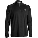Under Armour Tech 1/4 Zip Herren-Langarmshirt 1242220-003 Black