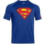 Under Armour Alter Ego Superman Herren-Shirt 1249871-400 Royal