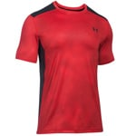 Under Armour Raid SS Herren-Laufshirt 1257466-604 Red/Black