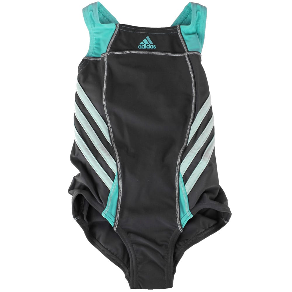 Adidas Inspiration Suit Girls M67965 KinderBadeanzug Phantom/Mint