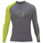 Dakine Mens DNA L/S Lycra (SNUG) Surfshirt - Charcoal