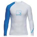 Dakine Mens DNA L/S Lycra (SNUG) Surfshirt - White